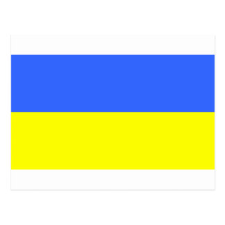 Flag of Ukraine Postcard