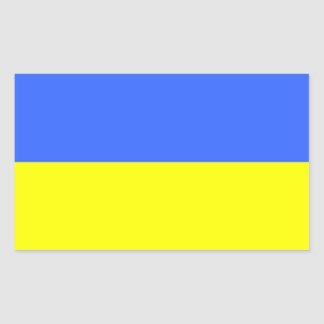 Flag of Ukraine Rectangular Sticker