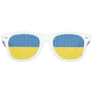 Flag of Ukraine Retro Sunglasses