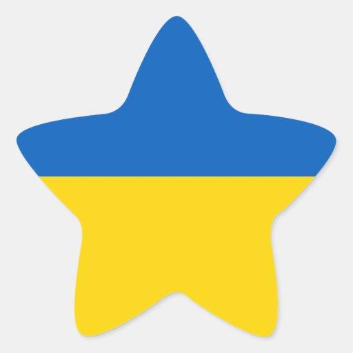 Flag of Ukraine Stickers