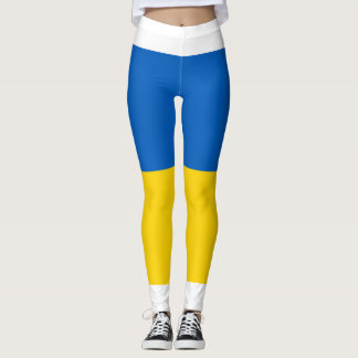 Flag of Ukraine - Ukrainian Flag - Прапор України Leggings
