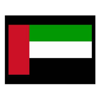 Flag of United Arab Emirates Postcard