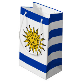 Flag of Uraguay Small Gift Bag