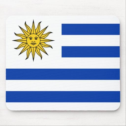 Flag of Uruguay Mousepads