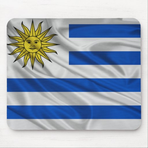 Flag of Uruguay Mouse Pads