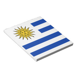 Flag of Uruguay Notepad
