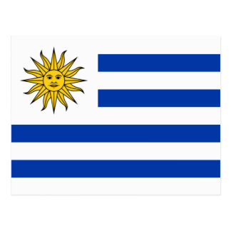 Flag of Uruguay Postcard