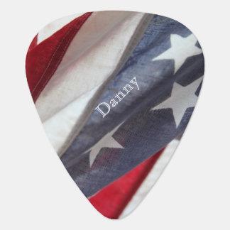 Flag of USA Guitar Pick