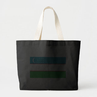 Flag of Uzbekistan Canvas Bags