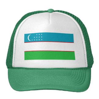 Flag of Uzbekistan Trucker Hat