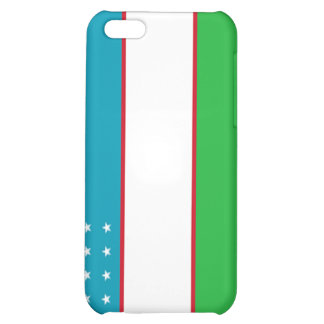 Flag of Uzbekistan Cover For iPhone 5C