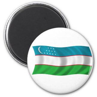 Flag of Uzbekistan Magnet