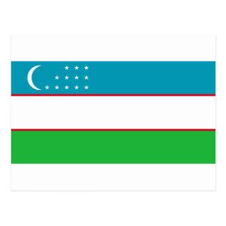 Flag_of_Uzbekistan Postcard