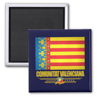 Flag of Valencia Magnet