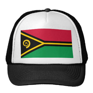 Flag of Vanuatu Trucker Hats