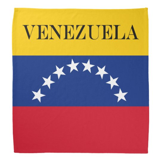 Flag of Venezuela Bandana
