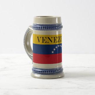Flag of Venezuela Beer Stein