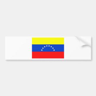 Flag of Venezuela Bumper Sticker