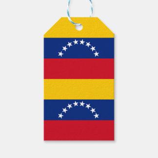 Flag of Venezuela Gift Tags