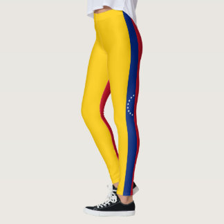 Flag of Venezuela Leggings