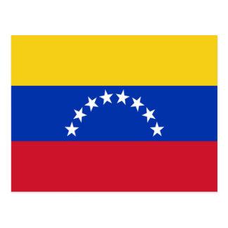 Flag of Venezuela Post Card