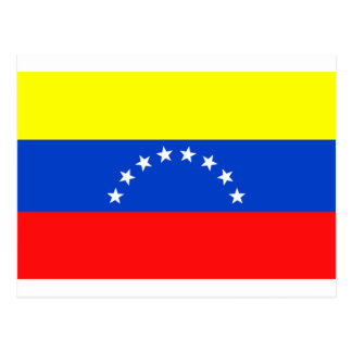Flag of Venezuela Postcard