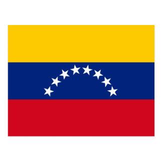 Flag of Venezuela Postcard