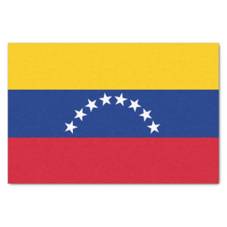 Flag of Venezuela Tissue Paper