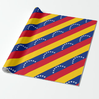 Flag of Venezuela Wrapping Paper
