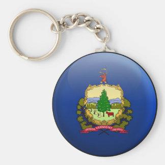 Flag of Vermont Key Ring