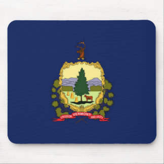 Flag of Vermont Mouse Pad