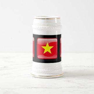 Flag of Vietnam Beer Steins