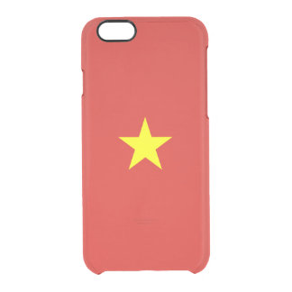 Flag of Vietnam Clear iPhone Case