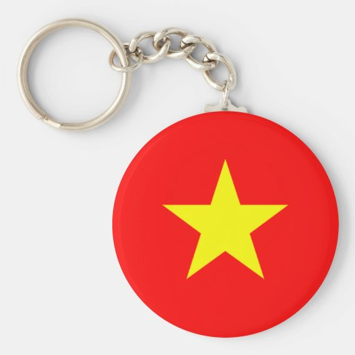 Flag of Vietnam Key Chains