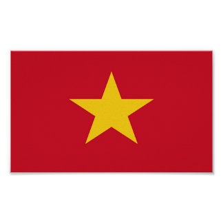 Flag of Vietnam Poster