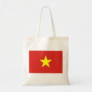 Flag of Vietnam - Quốc kỳ Việt Nam Budget Tote Bag