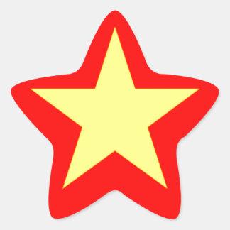 Flag of Vietnam Star Stickers