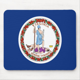 Flag of Virginia Mouse Mat
