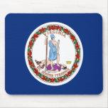 Flag of Virginia Mousepads