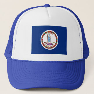 Flag of Virginia Trucker Hat