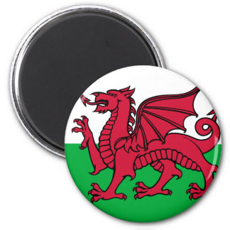 Flag of Wales Refrigerator Magnet