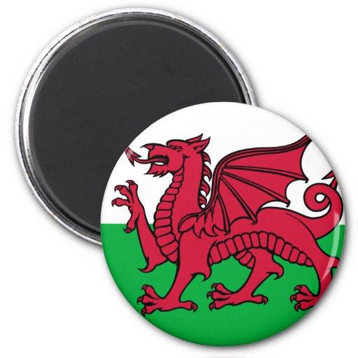 Flag of Wales Refrigerator Magnet