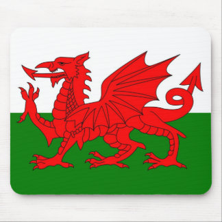 Flag of Wales Mouse Mat