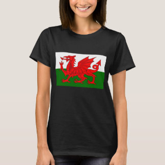 Flag of Wales Red Dragon T-Shirt
