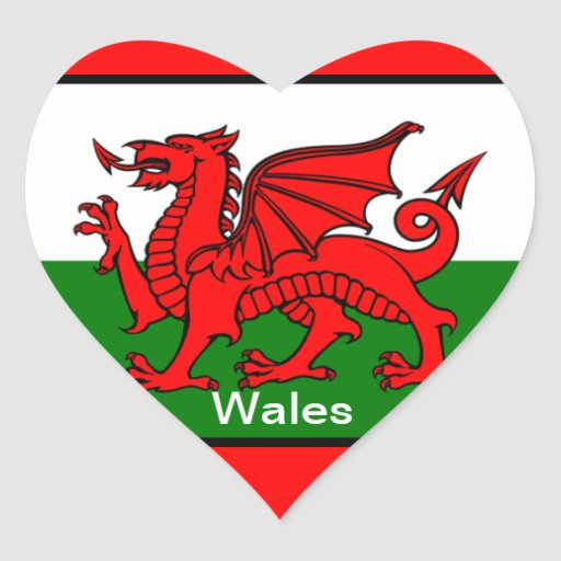 Flag of Wales Sticker