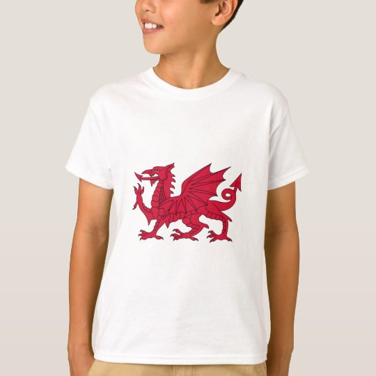 Flag of Wales - The Red Dragon -
