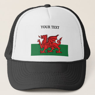 Flag of Wales Trucker Hat