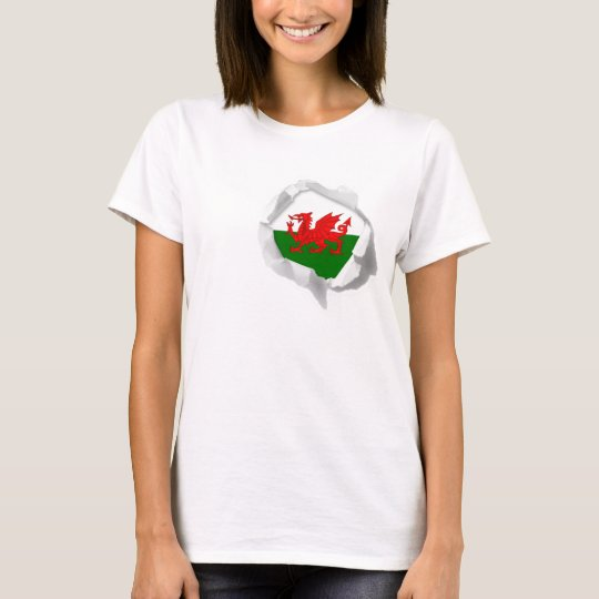 Flag of Wales True Colours Welsh Pride Torn