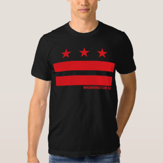 Flag of Washington DC Tees