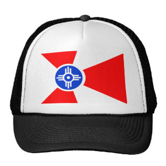 Flag of Wichita Kansas Cap
